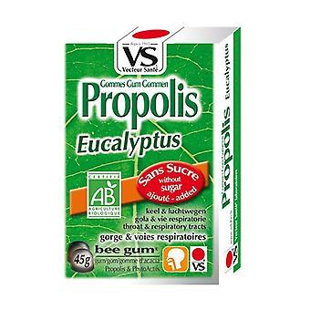 Organic Propolis Eucalyptus Gums without sugar 45 g