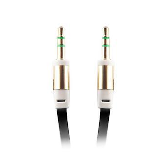 AUX Ljudkabel med 3,5 mm  kontakt - 1 m