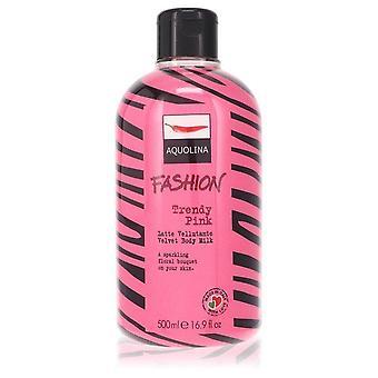 Trendy Pink Velvet Body Milk By Aquolina 16.9 oz Velvet Body Milk