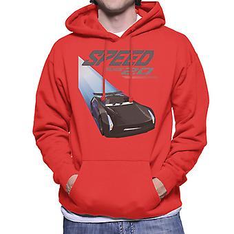 Pixar Cars Jackson Storm Speed Machine Men's Sweater met capuchon