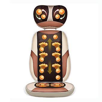Elektryczny masaż poduszka szyi talii z powrotem szyjna kręg masażer ciała domu wielofunkcyjna poduszka elektryczny fotel do masażu