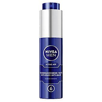 Nivea Hydratant Nuit Régénérateur Active Age 50 ml