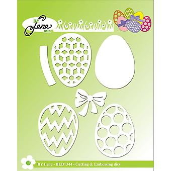 By Lene Easter Eggs Cutting & Embossing Dies