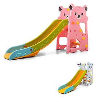 Moni børns slide bære 18005, 168 cm slide længde, basketball hoop, vejrfast