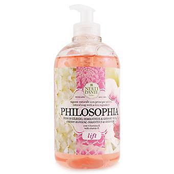 סבון נוזלי פילוסופיה להרים פריחת הדובדבן, אוסמנטוס &amp גרניום 251243 500ml/16.9oz