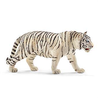 Schleich 14731 Tiger White Animal Figure Wild Life
