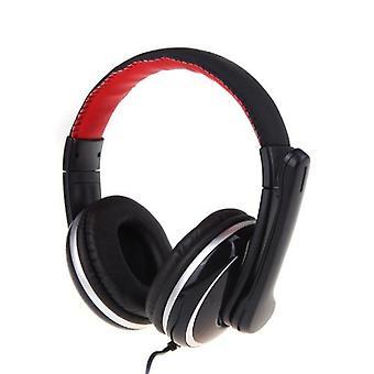 OVLENG OV-Q6 USB Stereo -kuulokekuulokkeiden mikrofonimikrofoni kannettavan tietokoneen tietokoneelle