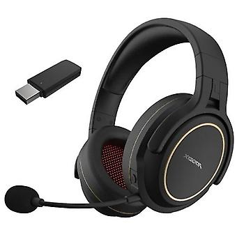 XIBERIA G01 2.4GHz Wireless Gaming Headset Over Ear Game Headphones Stereo Music Earphone