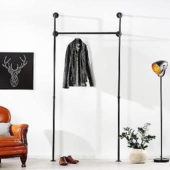 FengChun Kleiderstange Industrial Loft Design - Garderobe fr begehbaren Kleiderschrank Wand I