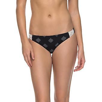 Roxy Take me naar de zee surfer bikini in antraciet parelwitte tegels