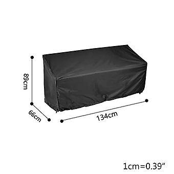 210D حديقة مقاعد البدلاء غطاء مضاد للماء الأشعة فوق البنفسجية الثقيلة مقعد واقية غطاء كرسي(134x66x89cm)