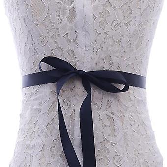 Sash Diamond häät nauha ohut tekojalokivien vyö mekko