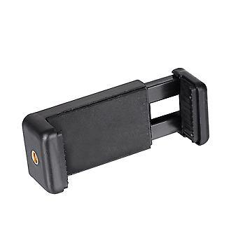 Soporte de soporte de clip de teléfono celular montaje Trípode Soporte para iphone Smartphone