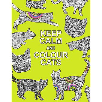 Keep Calm and Colour Cats  Creative Calm for Cat Lovers