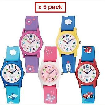 Q&q fashion watch pack 5 kids watches  vr99_pack