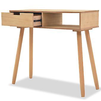 vidaXL console bois massif de pin 80 x 30 x 72 cm