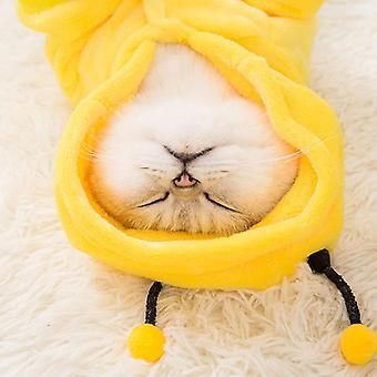 Cat clothes cute bee cat pet costume pet clothing