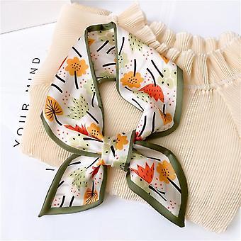 Female Luxury Skinny Hair Neck Scarves, Ribbons Headband