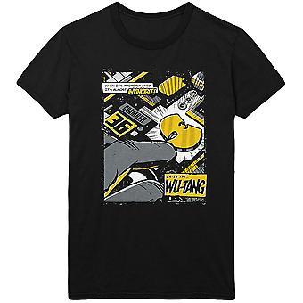 Wu-Tang Clan - Invincible Men's Large T-Shirt - Black