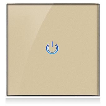 Glass Panel Smart Touch Wall Switch For Light 1gang 220v