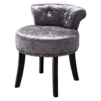 Velvet Dressing Chaise Pouffe Footstool