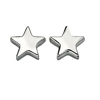 Elementer Sølv Sterling Sølv Ladies Star Studs
