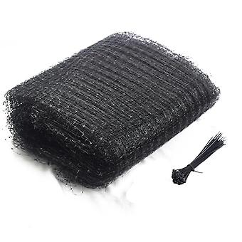 Bird Netting, 6.8 X 65.6 Feet  Heavy Duty Fruit Tree Netting With 50pcs Cable Ties,for Protect Seedlings Plants