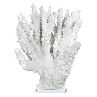 White Deep Sea Coral Inspired Sculpture