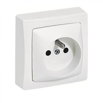 Socket With Ground Protruding Terminals