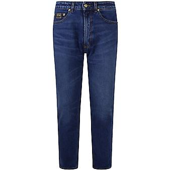Versace Jeans Couture Regular Fit Mid Wash Jeans