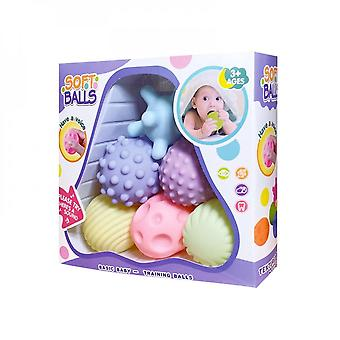 Touch Hand Soft Balls Baby Massage Rubber Teethers Squeeze Toy