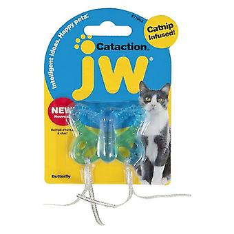 JW Pet Cataction Catnip Infused Butterfly Interactive Cat Toy  - 1 count