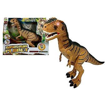 Dinosaurus Speelgoed - Tyrannosaurus Rex - loopt en brult - 46 cm