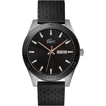 Lacoste Black Genuine Leather 2010982 zegarek męski