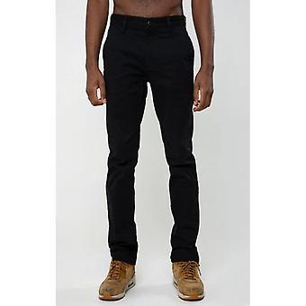 Dml jeans calvin chino slim fit pant - black