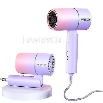Hair dryers professional hammer folding hairdryer electric dryer salon blowdryer hot and cold wind hair drying