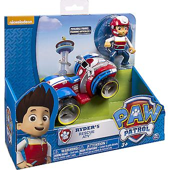 Originale Paw Patrol Action Figure Giocattolo Rescue Bus Air Aircraft Headquarters Lookout Tower Dog Puppy Car