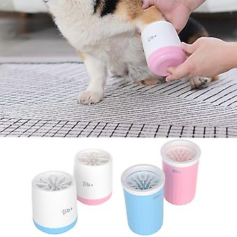 Pet Foot Wash Cup Dog Paw Cleaner Cup Portable Silicone Puppy Lavage Brosse Feet Cleaner Mug