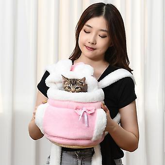 Ihana lemmikki kantaa koiran kissan kantaja reppu varoittaa muhkea matkalaukku rintalaukku hengästytettävä kissa päivittää kuljetusreppu Zh847