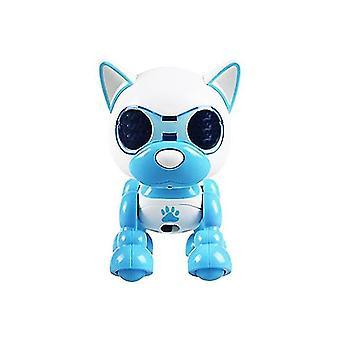 Halo Elektronisk Intelligent Robot Hund Valp Pet Robot Leketøy Robot Barn Leketøy Robot | fjernkontroll robot (blå)