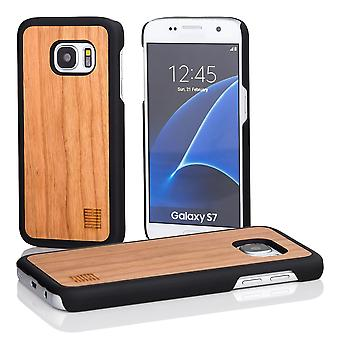 32nd Wooden Back case for Samsung Galaxy S7 (SM-G930) - Pear