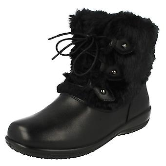 Ladies Padders Wide Fitting Ankle Boots Kim