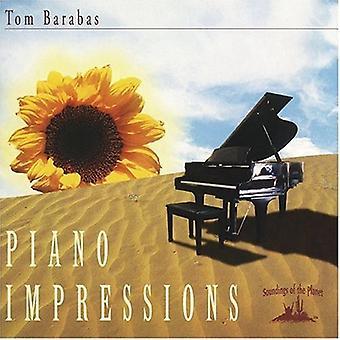 Tom Barabas - Piano Impressions [CD] USA import