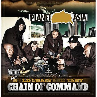 Planet Asia & Gold Chain Military - Chain of Command [CD] USA import