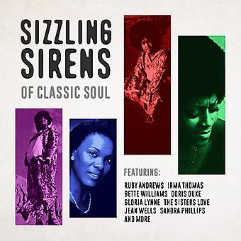 Various Artist - Sizzling Sirens of Classic Soul [CD] USA import