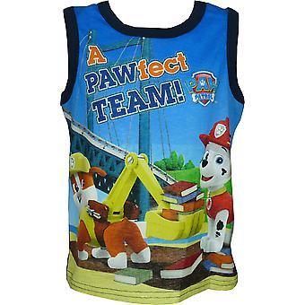 Boys Paw Patrol Sleeveless T-Shirt / Vest