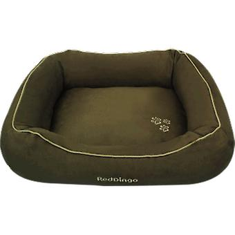 Red Dingo Cuna Donut L Green 100x75Cm (Dogs , Bedding , Beds)