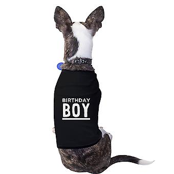 Birthday Boy Black Small Pet Shirt Cotton Funny Dog Birthday Gift