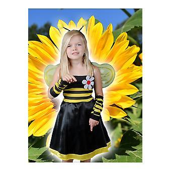 Kinder Kostüme Mädchen Biene Kleid