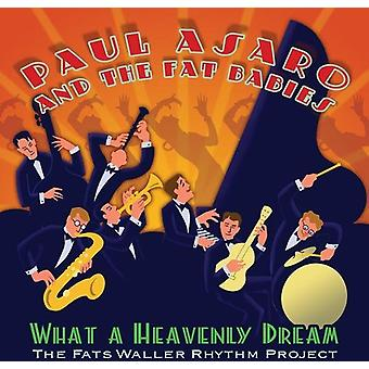 Paul Asaro & the Fat Babies - What a Heavenly Dream-Fats Waller Rhythm Project [CD] USA import